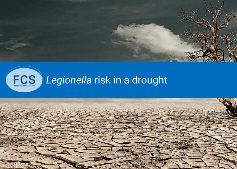 Legionella drought desert land