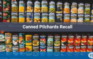 Canned Pilchards Recall