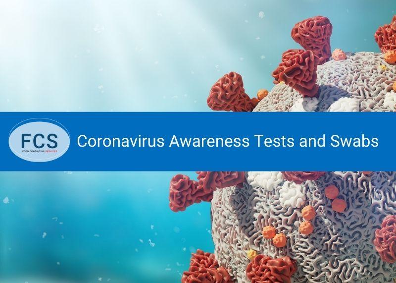 Coronavirus Awareness Tests and Swabs