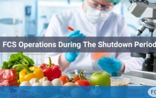 FCS shutdown operations
