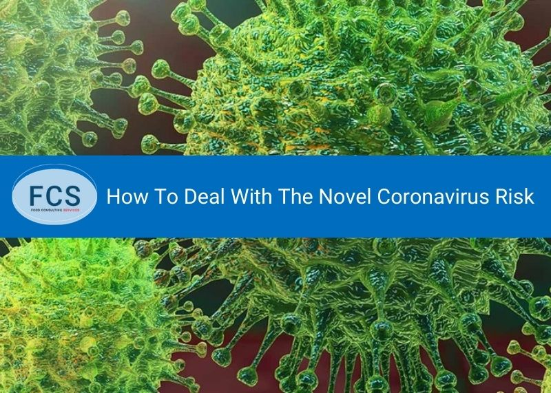 Advice On How To Deal With The Novel Coronavirus Risk